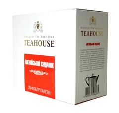 Черный чай Teahouse Английский завтрак 20 пакетиков