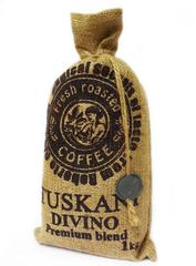 Кофе в зернах Tuskani Divino 60% арабика 40% робуста 1 кг