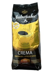Кофе в зернах Ambassador Crema 1 кг