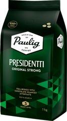 Кофе в зернах Paulig Presidentti Original strong 1 кг