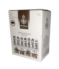 Растворимый кофе Mr.Rich Kaffee Millicano Premium 26 шт по 2 г